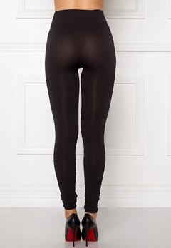 VILA Seam Long Leggings Black Bubbleroom.dk