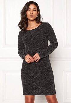 VILA Tinny Luosquare New Dress Black Bubbleroom.dk