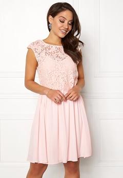 VILA Ulvica S/L Dress Peach Blush Bubbleroom.dk