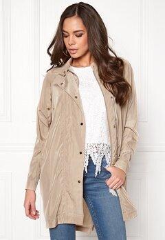 VILA Vieastha jacket Soft Camel Bubbleroom.dk