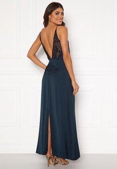 VILA Vinupa S/L Maxi Dress Total Eclipse Bubbleroom.dk