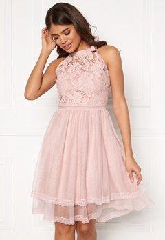 VILA Zinna New S/L Dress Pale Mauve Bubbleroom.dk