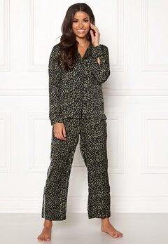Love Stories Weekend Pyjama Pants Black Bubbleroom.dk
