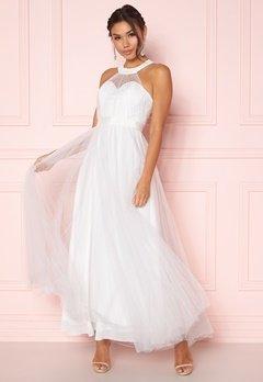 Y.A.S Wonder Halterneck Dress Star White Bubbleroom.dk
