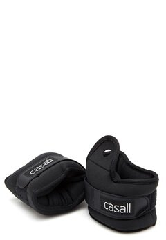 Casall Wrist Weights 2x2kg 901 Black Bubbleroom.dk