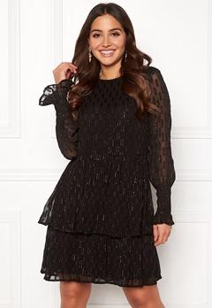Y.A.S Adele LS Dress Black Bubbleroom.dk