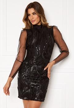 Y.A.S Ava LS Dress Black Bubbleroom.dk