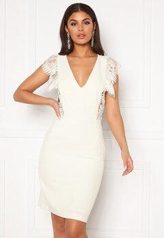 Y.A.S Beatrice SL Dress Star White Bubbleroom.dk
