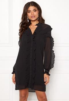 Y.A.S Blissa LS Dress Black Bubbleroom.dk