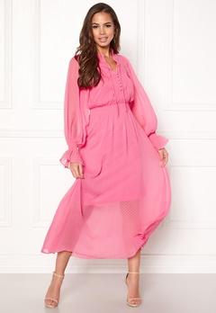 Y.A.S Debra L/S Dress Sachet Pink Bubbleroom.dk