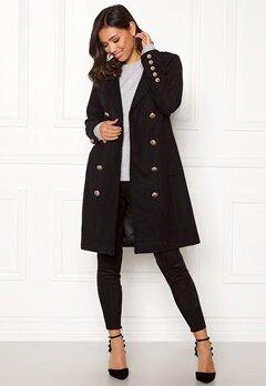 Y.A.S Goldia Coat Black Bubbleroom.dk
