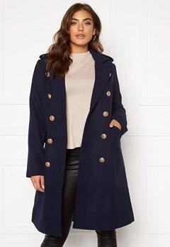 Y.A.S Goldian Wool coat Navy Blazer Bubbleroom.dk