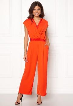 Y.A.S Mamba S/S Jumpsuit Orange.com Bubbleroom.dk