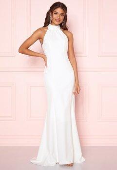 Y.A.S Meghan Maxi Dress Star White Bubbleroom.dk
