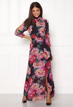 Y.A.S Mellow Maxi Chiffon Dress Black Bubbleroom.dk