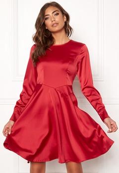 Y.A.S Meo LS Dress Haute Red Bubbleroom.dk