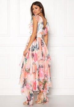 Y.A.S Pallida S/S Dress Star White / Multi Bubbleroom.dk