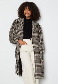 Y.A.S Ponga LS Wool Coat Black bubbleroom.dk