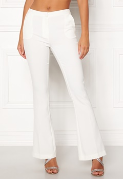 Y.A.S Samura Libby Pant Star White Bubbleroom.dk