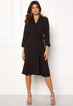 Y.A.S Unika LS Dress Black Bubbleroom.dk