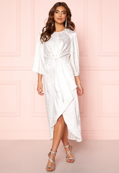 Y.A.S Xenia Dress Star White Bubbleroom.dk