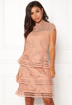Y.A.S Yrsa Lace Dress Rose Smoke Bubbleroom.dk