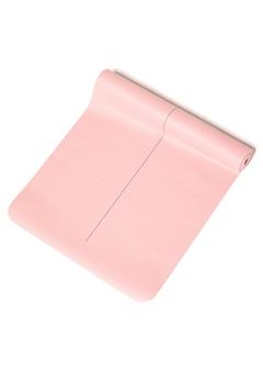Casall Yoga Mat Balance 3mm Free 306 Lucky Pink Bubbleroom.dk
