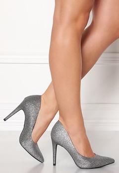 New Look Yummy Glitter Heel Silver Bubbleroom.dk
