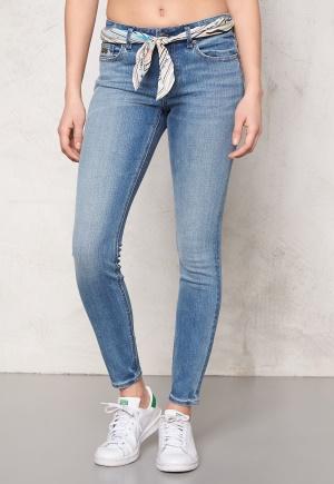 468f18ca0f8 Odd Molly Stretch it cropped jeans Mid Blue - Bubbleroom