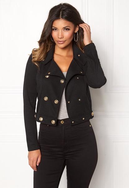 Chiara Forthi Detolly Jacket Black Bubbleroom.dk