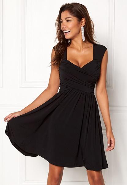 Chiara Forthi Kirily Dress Black Bubbleroom.dk