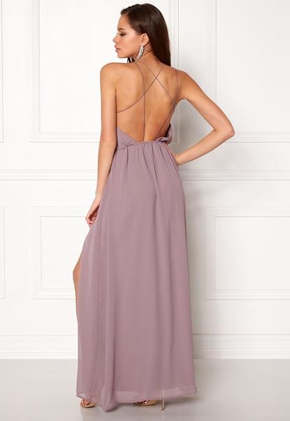 Make Way Sierra Prom Dress Dusty lilac Bubbleroom.dk