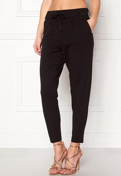 ONLY Poptrash Easy Pants Black Bubbleroom.dk