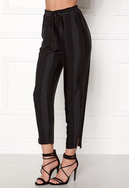 VILA Hiede 7/8 Pants Black Bubbleroom.dk