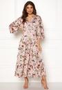 Floral Kimono Midi Dress