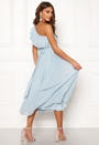 Carolina Gynning Frill one shoulder dress