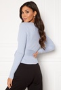 Enea knitted wrap top