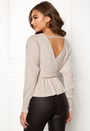 Fia frill knitted top