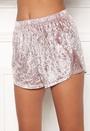Wilda velvet shorts