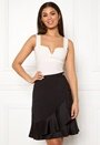 Bettina deep v-neck top