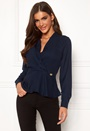 Carrera peplum blouse
