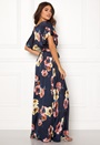 Floral Flutter Maxi Dress