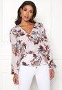 Brea wrap blouse