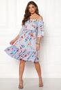 Star Offshoulder Dress