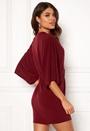 Twist Front Kimono Dress