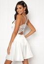 Angela Satin Dress