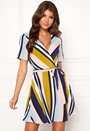 Donna S/S Fixed Wrap Dress