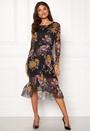 Lulu Midi LS Mesh Dress
