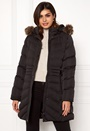 Quilted Long Puffer Coat