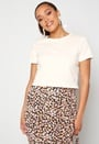 Eco Cotton Cropped T-Shirt